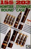 Снаряды, укупорка, ящики для 105/203mm HOWITZER