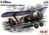 ICM72012 I-15bis WWII Soviet fighter