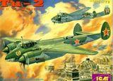 ICM72031 ICM72031 Tupolev Tu-2 WWII Soviet bomber