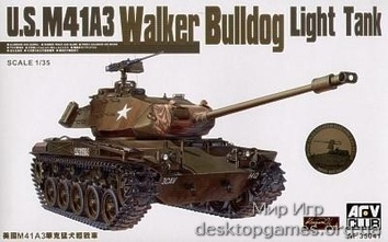 M41A3 WALKER BULLDOG LIGHT  TANK