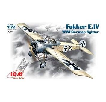 ICM72111 Fokker E-IV WWI German fighter