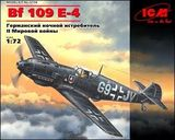 ICM72134 Messerschmitt Bf 109E-4 WWII German night fighter