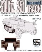 Sdkfz251 TRACK LATE  TYPE (WORKABLE)