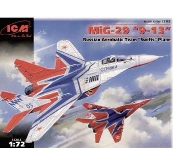 МиГ-29 «9-13» Пилотажня группа Стрижи