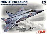 ICM72151 MiG-31 Foxhound Soviet heavy interceptor