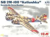ICM72161 SB 2M-100 Spanish bomber