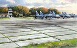 Советские плиты аэродромного покрытия ПАГ-14