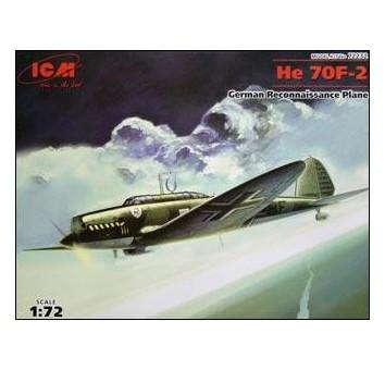 Heinkel He 70F-2 German reconnaissance plane