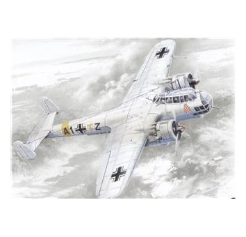 ICM72291 Do 17Z-2 WWII German bomber
