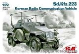 ICM72421 Sd.Kfz.223 WWII German radio communication vehicle