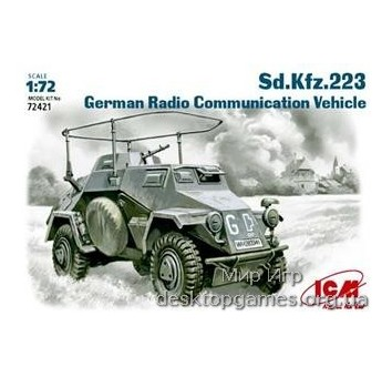 ICM72421 Sd.Kfz.223 WWII German radio communication vehicle