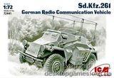 ICM72441 Sd.Kfz.261 WWII German radio communication vehicle