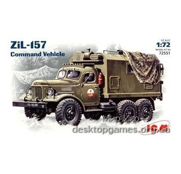 ICM72551 Zil-157 Soviet command truck