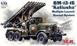 ICM72571 BM-13-16 Soviet Army rocket volley system