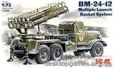 ICM72591 BM-24-12 Soviet Army rocket volley system
