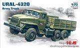 Армейский грузовой автомобиль Урал-4320