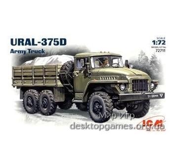 ICM72711 Ural-375D Soviet Army cargo truck