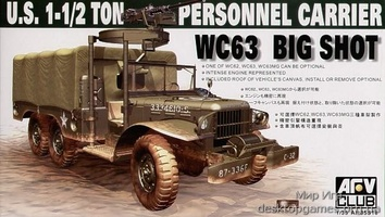 WC63 1-1/2T 6x6 PERSONELL CARRIER