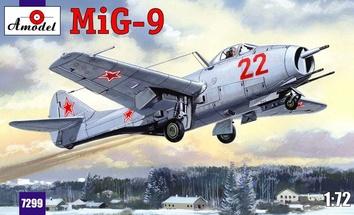 Одноместный истребитель МИГ-9