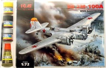 Советский бомбардировщик СБ 2М-100A