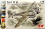 ICMset72163 Avia B-71 WWII German bomber (самолет)