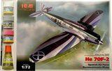 ICMset72231 Heinkel He 70F-2 Spanish reconnaissance plane (самолет