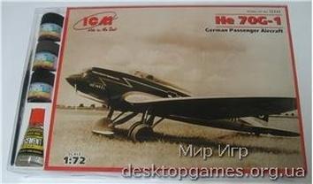 ICMset72233 Heinkel He 70G-1 German passenger aircraft (самолет)