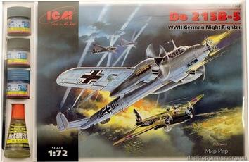 ICMset72302 Do 215B-5 WWII German night fighter (самолет)