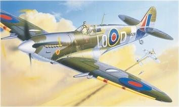 Сборная модель самолета Спитфайр MK IX (Spitfire)