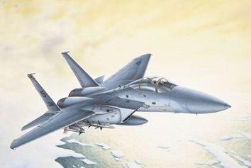 Сборная модель самолета Игл F-15C (Eagle) из пластика