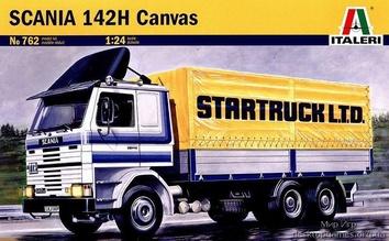 Масштабная модель грузовика Скания (SCANIA 142H Canvas)