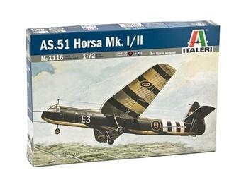 Масштабная модель самолета AS.51 Horsa Mk. I/II