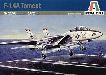Пластиковая модель самолета Томкэт F-14A (TOMCAT)