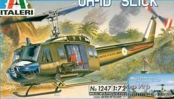 Масштабная модель вертолета Слик UH-1D (Slick)