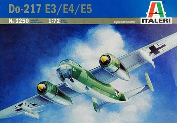 Пластиковая модель самолета Dornier Do-217 E-3/4/5