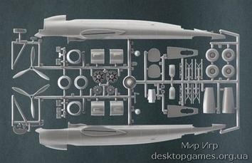 Пластиковая модель самолета Dornier Do-217 E-3/4/5 - фото 2