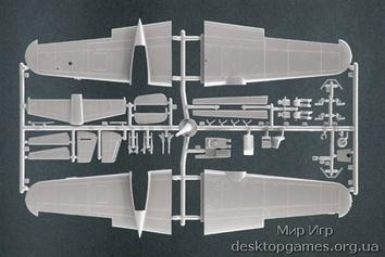 Пластиковая модель самолета Dornier Do-217 E-3/4/5 - фото 3