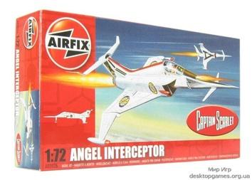 Боевой самолет ANGEL INTERCEPTOR (Капитан Скарлет)