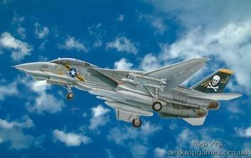 Масштабная модель самолета Томкэт F-14A (Tomcat)