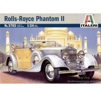 Модель автомобиля Роллс-Ройс Фантом (Rolls-Royce Phantom II)