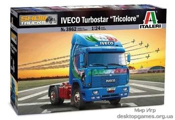 Масштабная модель грузовика IVECO Turbostar «Tricolore»