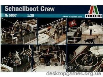SCHNELLBOOT  BOAT CREW