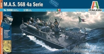 Масштабная модель катера M.A.S. 568 4A SERIE