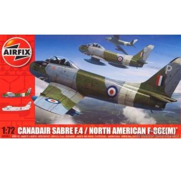 Модель самолета Сабре F86 Mk4 CANADAIR