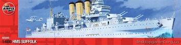 Модель корабля Суффолк