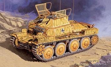 Масштабная модель танка SD. KFZ. 140/1 AUFKLARUNGSP.38 (T)