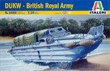 Модель амфибии DUKW Королевской британской армии