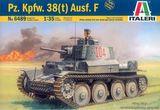 Масштабная модель танка Pz.Kpfw 38(t) Ausf. E/F