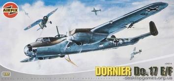 Модель бомбардировщика Дорнье Do 17 (серия 4)