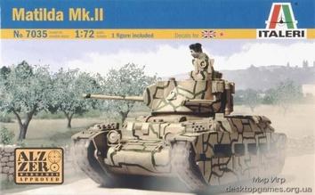 Масштабная модель среднего пехотного танка Матильда (MATILDA) Mk.II